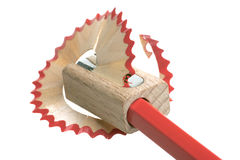 точилка для карандашей Стоковые Фото