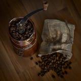 Точильщик с кофе Стоковые Фотографии RF