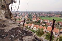 Точка зрения водонапорной башни в Вуковаре. Стоковое Изображение RF