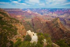Точка зрения гранд-каньона грандиозная Стоковые Фотографии RF
