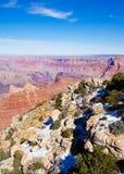 точка зрения каньона грандиозная Стоковое Изображение