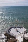Точка зрения к среднеземноморскому Стоковое Изображение