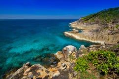 Точка зрения острова Tachai, Таиланда Стоковые Изображения RF