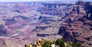 Точка зрения пустыни, гранд-каньон Стоковое Фото