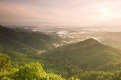 точка зрения схвата Таиланда phoom pha национального парка Стоковая Фотография