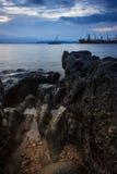 Точка зрения утеса Krabi Стоковые Фото