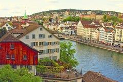 Точка зрения Швейцария Цюриха Стоковые Фото