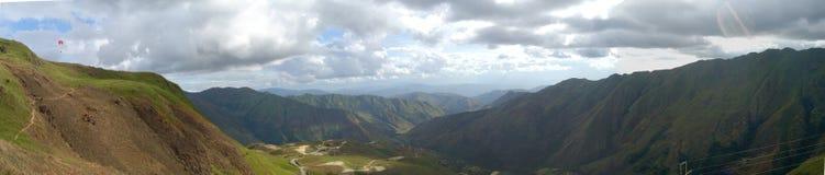 2005 01 Точка зрения Colonia Tovar 09 панорам Стоковое Изображение RF