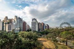 Точка зрения Escaleras - Cordoba лестниц парка Sarmiento, Аргентина стоковая фотография