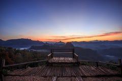 Точка зрения lanscape панорамы красивая Стоковые Фотографии RF