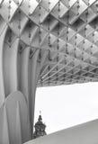 Точка зрения Metropol в Севилье, setas Las Испания Стоковая Фотография