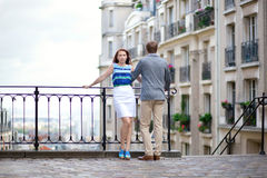 точка зрения paris montmartre пар стоковые фото