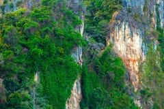 Точка зрения Railay, Phra Nang, Krabi, Таиланд стоковые изображения rf