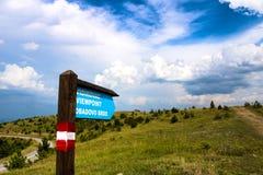 Точка зрения Zlatibor, Сербия! стоковые фото