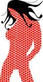 Точки девушки Стоковая Фотография RF