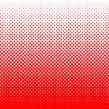 Точки на красной предпосылке Шаблон искусства шипучки Геометрическая абстрактная предпосылка стоковое фото