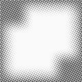 Точки полутонового изображения Monochrome предпосылка текстуры вектора для подпрессует, DTP, комиксы, плакат Шаблон стиля искусст иллюстрация штока