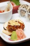 Точная азиатская еда перста Стоковая Фотография RF