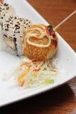 Точная азиатская еда перста Стоковые Изображения RF