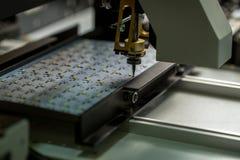 Точная машина для изготовлять панели СИД стоковая фотография rf