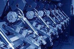 точность бумаги стана машинного оборудования оборудования стоковые фото