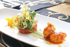 Точные обедая scallops Стоковые Изображения RF