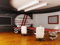 точный нутряной офис Стоковая Фотография