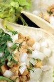 точный tacos лакомки Стоковое Изображение