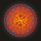 Толкование ядерной реакции художническое Стоковая Фотография RF