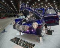 Толкование 1940 Coupe Willys делюкс Стоковые Изображения
