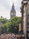 Толпа воскресенья в Лондоне стоковая фотография rf