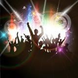 Толпа партии Стоковые Фотографии RF