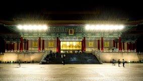 Толпа потерь концертного зала Тайваня национальная сток-видео