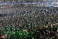 толпа согласия Стоковое фото RF