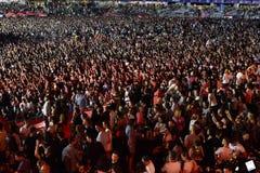 толпа согласия Стоковое Изображение