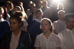 Толпа студентов Стоковые Изображения RF