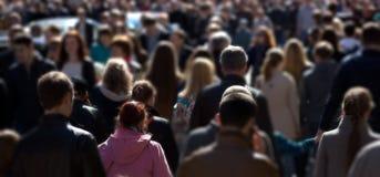 Толпа улицы Стоковое Фото