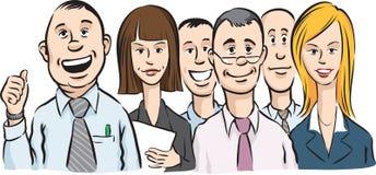 Толпа людей офиса иллюстрация штока