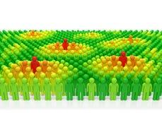 Толпа людей Стоковое Изображение RF