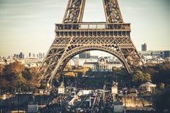 Толпить Париж Стоковая Фотография