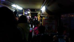 Толпить шина на ноче акции видеоматериалы