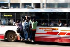 Толпить шина правительства в chennai Стоковое фото RF