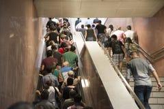 Толпить люди Стоковое Фото
