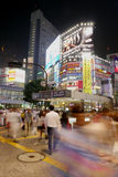 Толпить Shibuya, Япония Стоковые Изображения RF