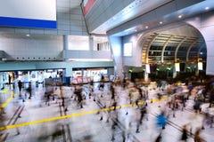 Толпы вокзала Стоковые Фото