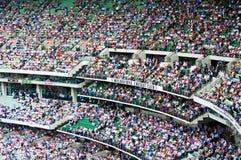 Толпы на MCG Стоковая Фотография RF