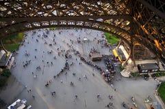 Толпы сверху стоковое изображение rf