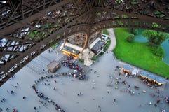 Толпы сверху стоковая фотография