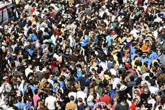 Толпы людей Стоковые Изображения RF