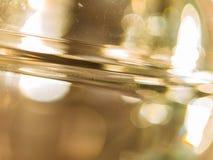 Толстая стеклянная абстракция Стоковая Фотография